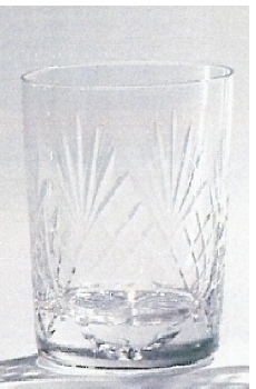 *SALE* 90g Durham Crystal Shot Glass With Engravable Panel 1