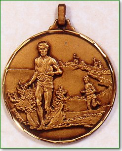 Male Cross Country Medal 1