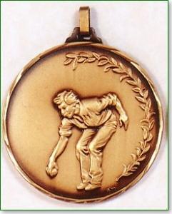 Lawn Bowls Medal 1