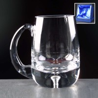 Balmoral Glass Bubble Based Engraved Glass Tankards Supplied In A Satin Lined Presentation Box. Price Includes Engraving