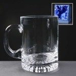 Balmoral Engraved Glass Tankards Supplied In A Satin Lined Presentation Box. Price Includes Engraving.