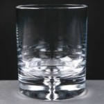 Balmoral Glass Bubble Based Engraved Whisky Glasses