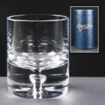 Balmoral Glass Shot Glass In Blue Cardboard Tube