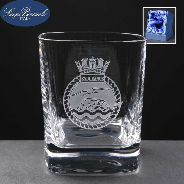 Strauss Whisky Glass In Presentation Box 1