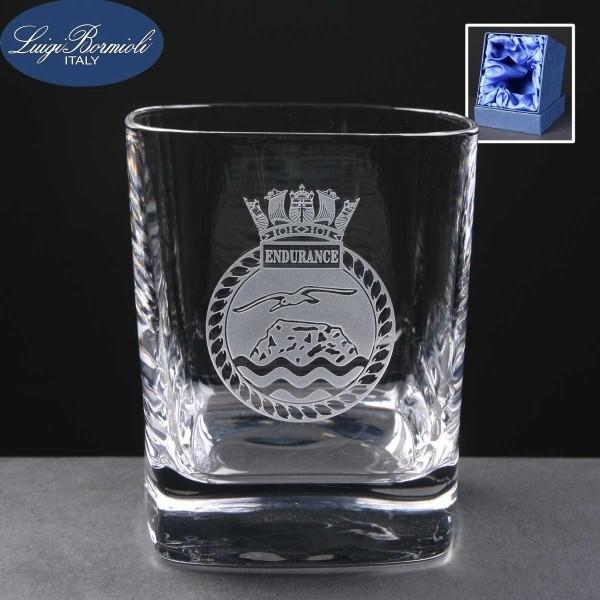 Strauss Whisky Glass In Presentation Box 1