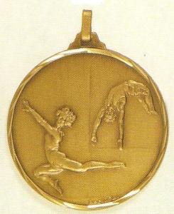 Gymnastics Medal 1