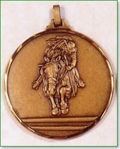Horse Racing Medal 1
