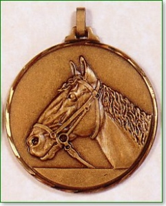 Horse's Head Medal 1