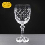 Earle Crystal Wine Glass With Panel For Engraving