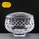 Earle Crystal Engraved Crystal Rose Bowls With Panel For Engraving Supplied In A White Cardboard Box. Price Includes Engraving.