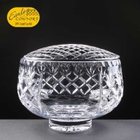 Earle Crystal Engraved Crystal Rose Bowls With Panel For Engraving Supplied In A White Cardboard Box. Price Includes Engraving