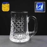 Engraved Earle Crystal Tankards With Panel For Engraving Supplied In A Satin Lined Presentation Box. Price Includes Engraving
