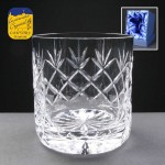 Earle Crystal Whisky Glass With Panel For Engraving In Presentation Box