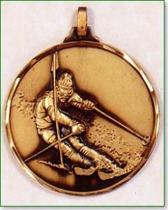 Skiing Medal 1