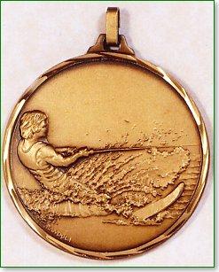 Water Skiing Medal 1