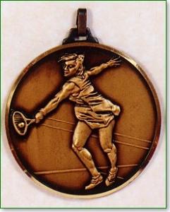 Female Tennis Medal 1