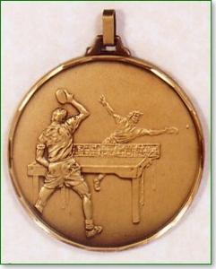 Table Tennis Medal 1