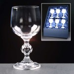 6x Claudia Engraved Wine Glasses In Presentation Box