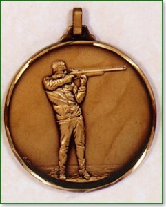 Clay Pigeon Medal 1