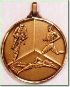 Triathlon Medal 1