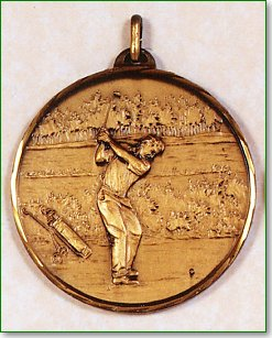 Male Golfer Medal 1