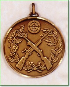 Clay Pigeon Medal 1