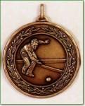 Lawn Bowls Medal - 50mm