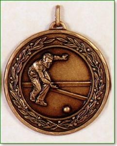 Lawn Bowls Medal – 50mm 1