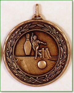 Ten Pin Bowling Medal 1