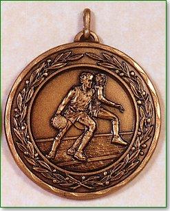 50mm Basketball Medals 1
