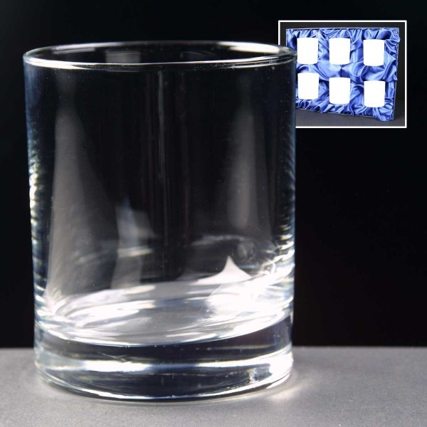 6x Islande Engraved Whisky Glasses Supplied In A Presentation Box. Price Includes Engraving