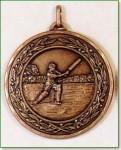 Cricket Medal - 50mm