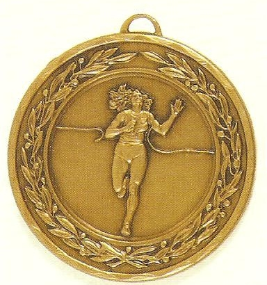 Female Running Medal – 50mm 1