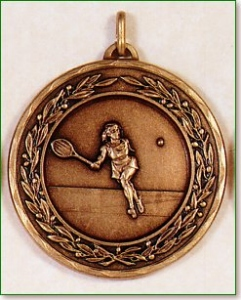 Female Tennis Medal 1
