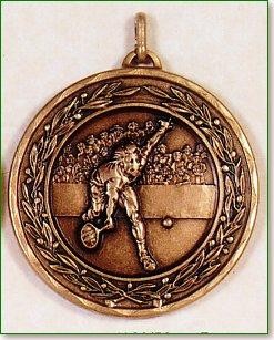 Male Tennis Medal – 50mm 1