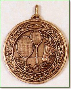 50mm Badminton Medals 1