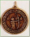 50mm Archery Medals