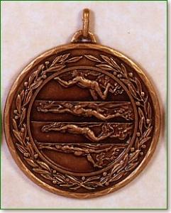 Swimming Medal – 50mm 1