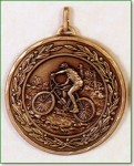 Mountain Bike Medal -50mm