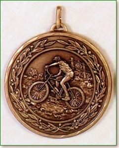 Mountain Bike Medal -50mm 1