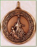 Rugby Medal - 50mm