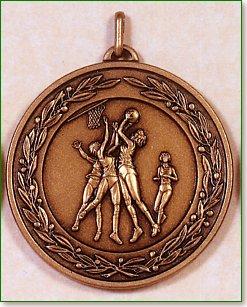 Netball Medal – 50mm 1
