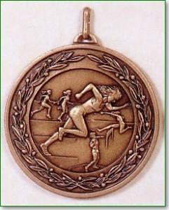 Female Athletics Medal – 50mm 1
