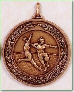 Girls Football Medal – 50mm 1