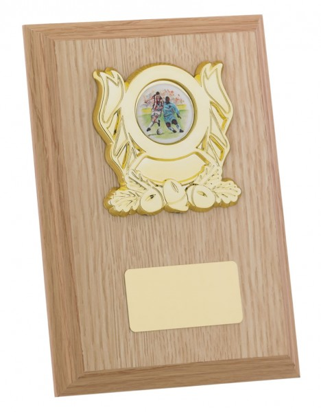 Light Brown Wooden Plaques 1