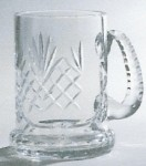 *SALE* Engraved Durham Crystal 1 Litre Tankard - 2 Remaining. Price Includes Engraving.