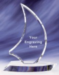 Crystal Awards Supplied In Presentation Box. Price Includes Engraving.