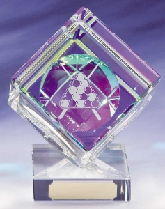 Glass Pool / Snooker Trophies  1