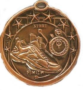 Running Scene Medal 1