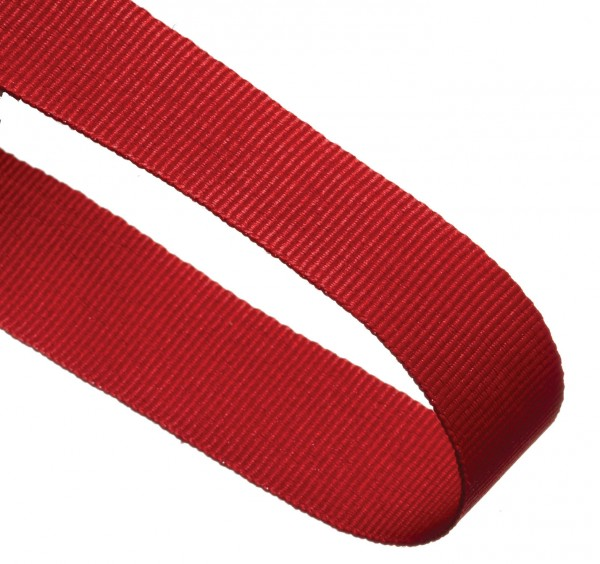 Red Woven Medal Ribbons With Clip 1
